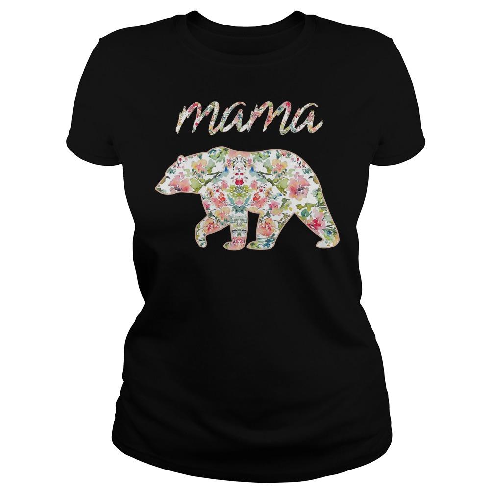 Mama Bear Floral ladies - Mama Bear Floral Shirt