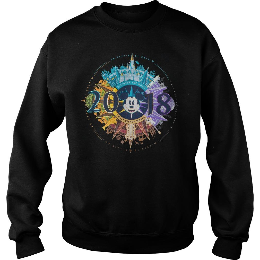 Mickey Mouse Compass Walt Disney World 2018 Sweater - Mickey Mouse Compass Walt Disney World 2018 Shirt