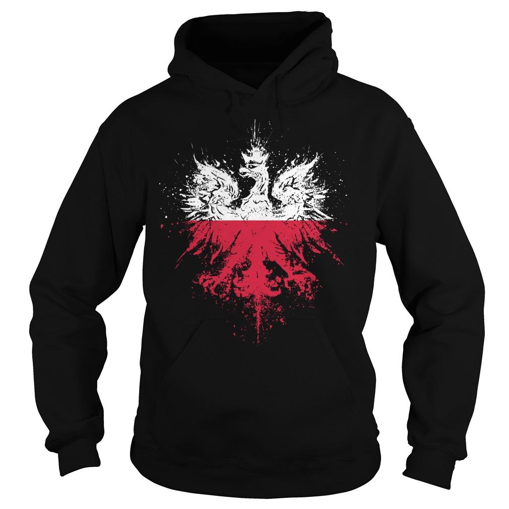 Polish Eagle Pride Flag hoodie - Polish Eagle Pride Flag Shirt