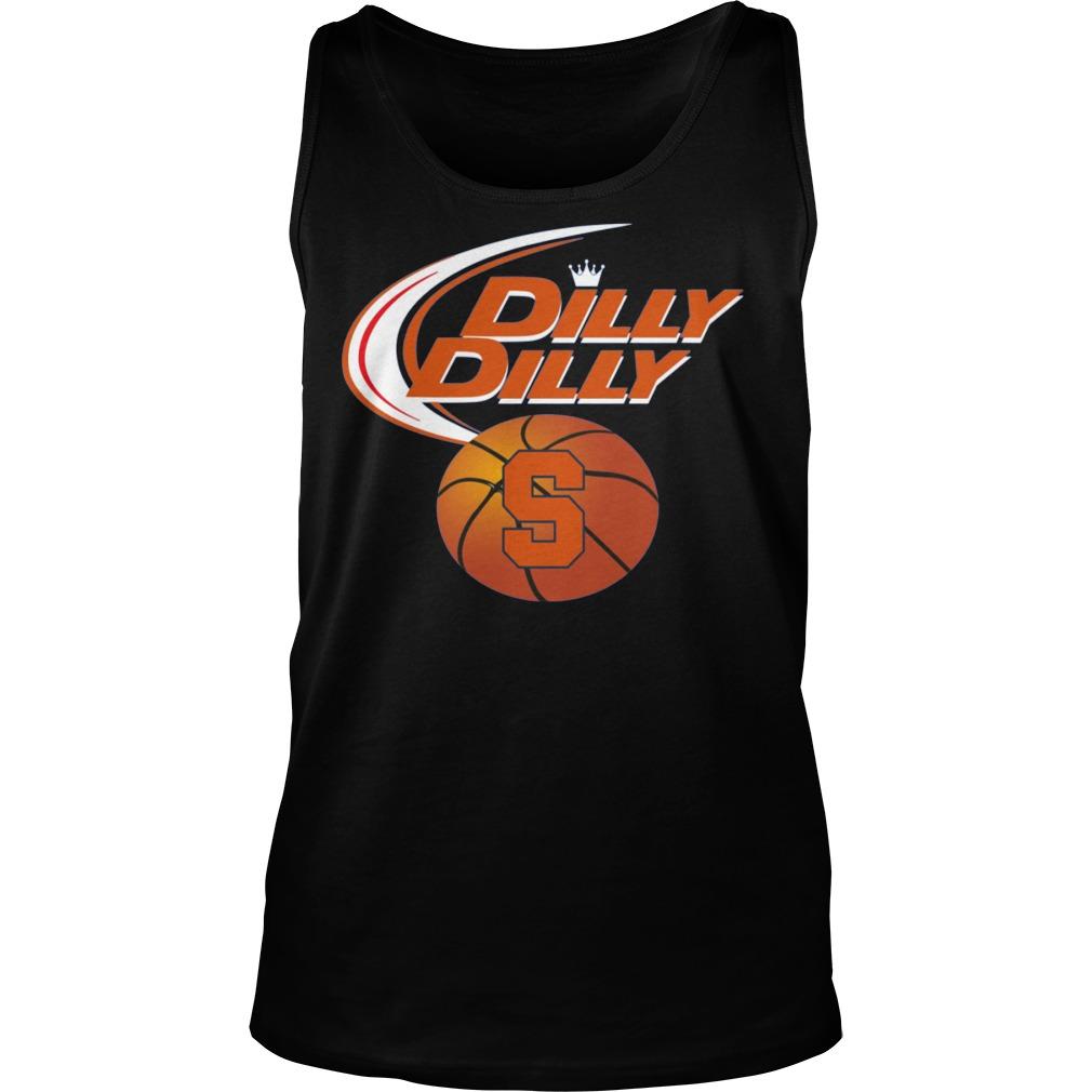 Syracuse Orange Dilly Dilly Tanktop - Syracuse Orange Dilly Dilly Shirt
