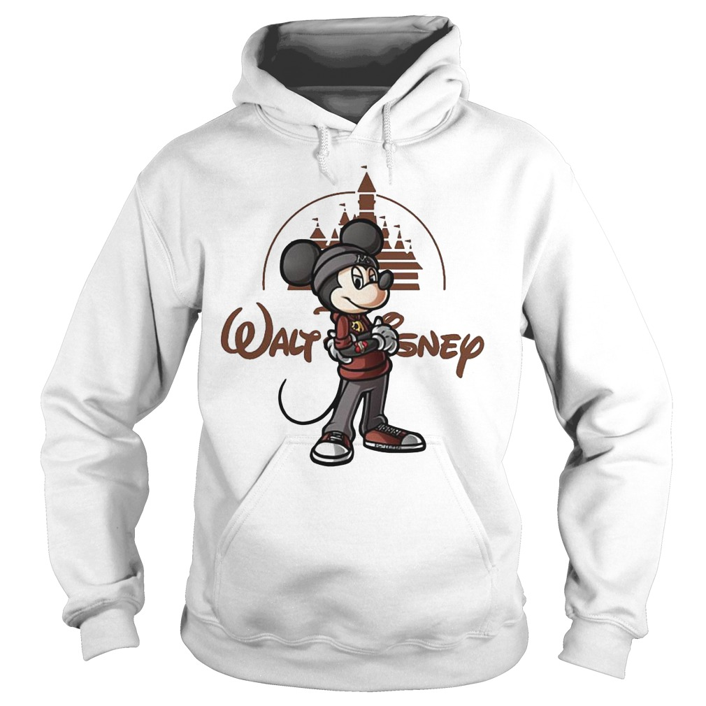 Walt Disney Mickey Mouse Castle Hoodie - Walt Disney Mickey Mouse Castle Shirt