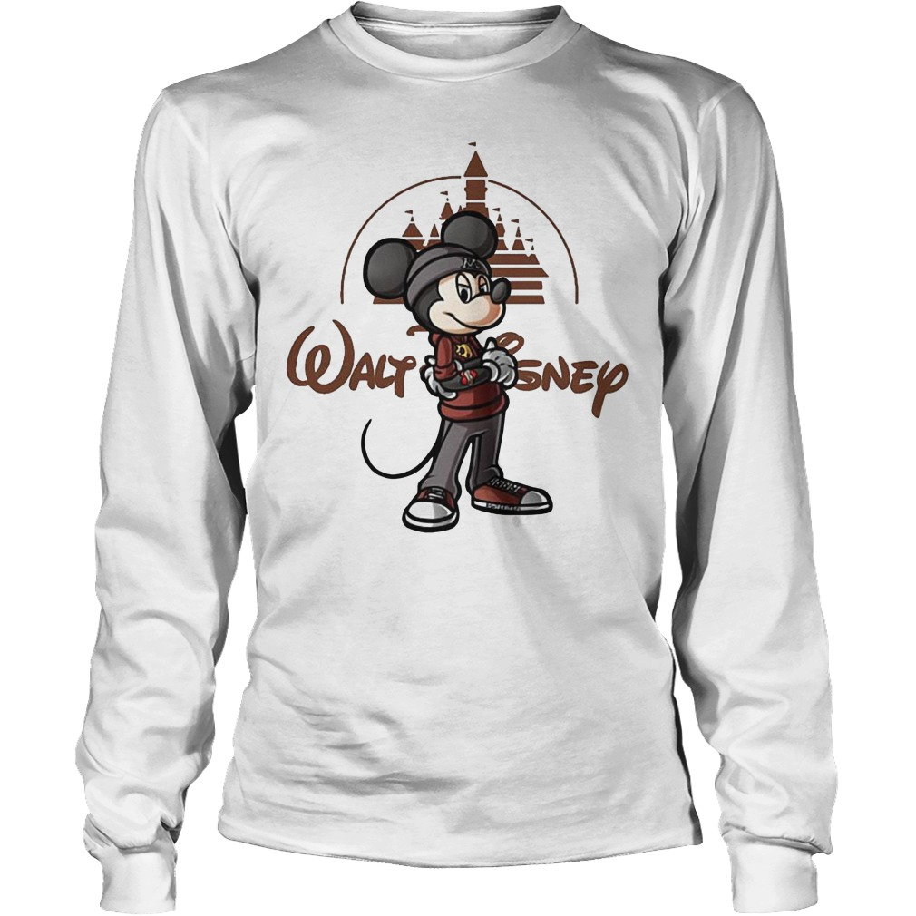 Walt Disney Mickey Mouse Castle Longsleeve - Walt Disney Mickey Mouse Castle Shirt
