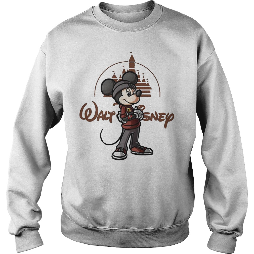 Walt Disney Mickey Mouse Castle Sweater - Walt Disney Mickey Mouse Castle Shirt