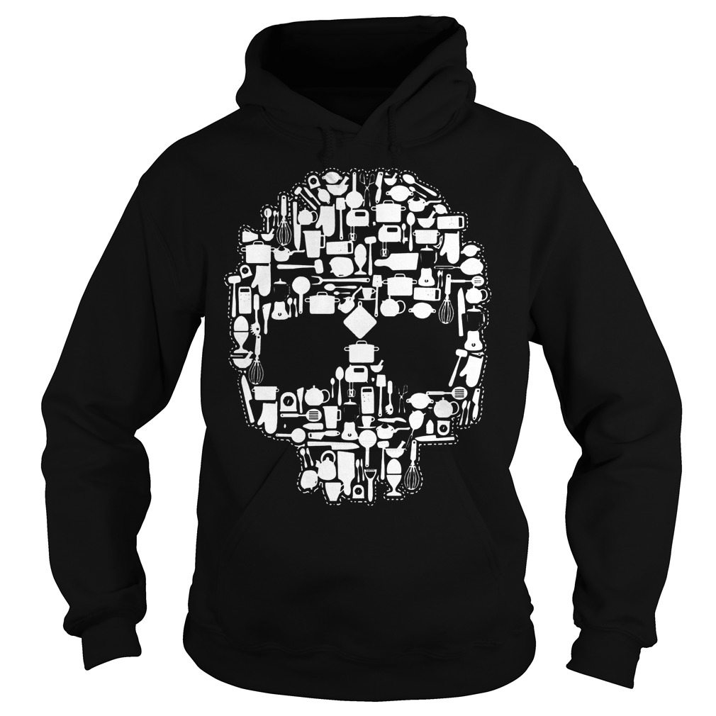 Chef Sugar Skull Hoodie - Chef Sugar Skull Shirt