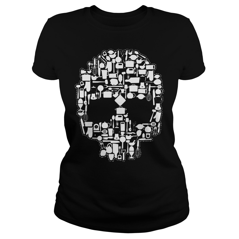 Chef Sugar Skull Ladies - Chef Sugar Skull Shirt