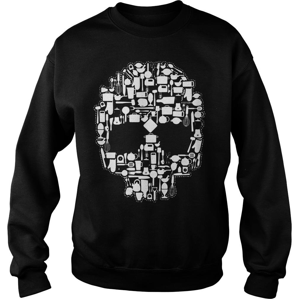 Chef Sugar Skull Sweater - Chef Sugar Skull Shirt