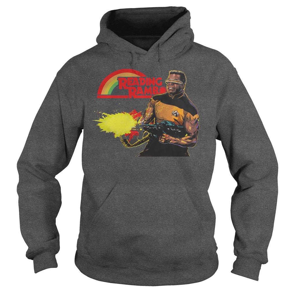Geordi La Forge Reading Rainbow Hoodie - Geordi La Forge Reading Rainbow Shirt