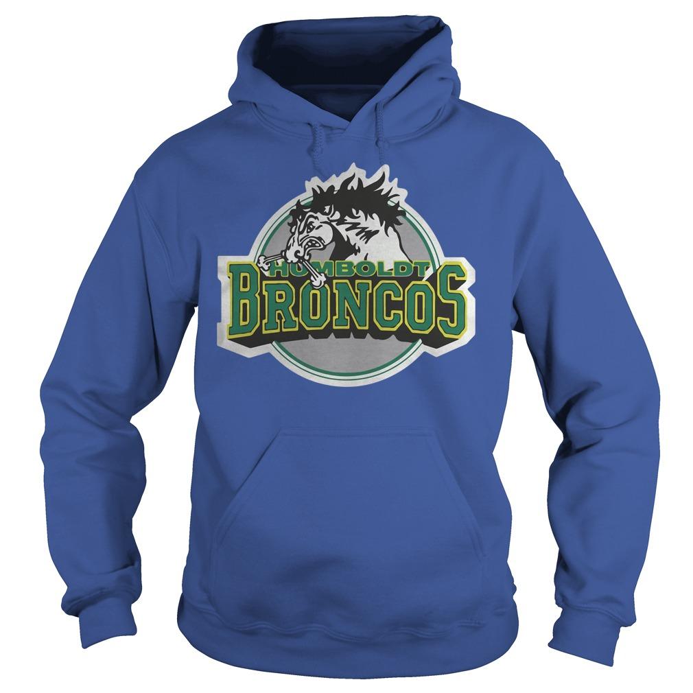 Humboldt Broncos Hockey Logo Hoodie - Humboldt Broncos Hockey Logo Shirt