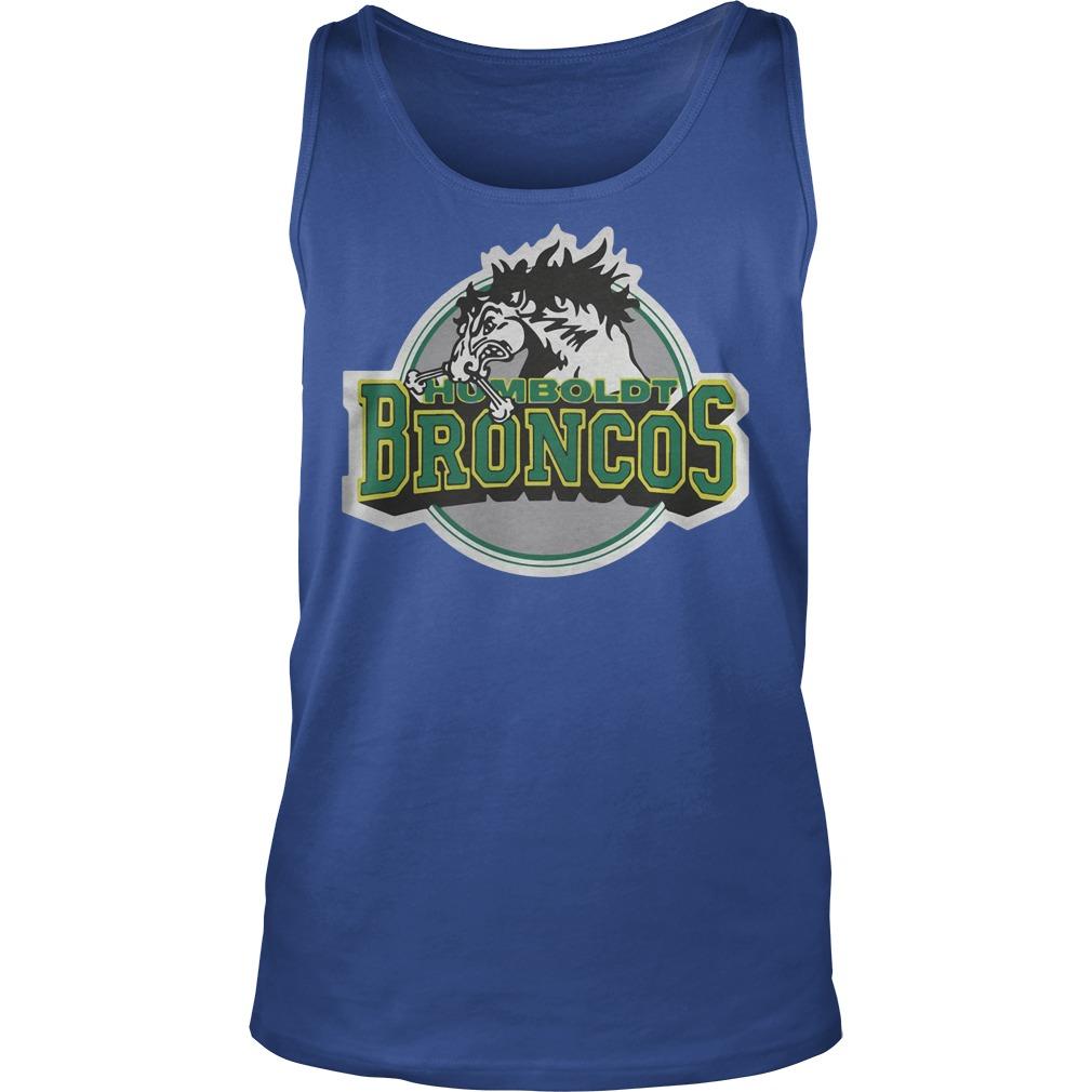Humboldt Broncos Hockey Logo Tanktop - Humboldt Broncos Hockey Logo Shirt