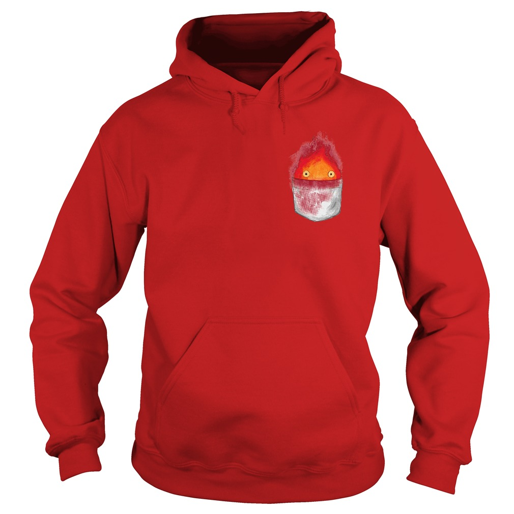 Spirit World Ghibli Pocket Fire Hoodie - Spirit World Ghibli Pocket Fire Shirt