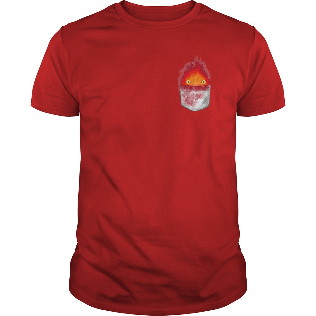 Spirit World Ghibli Pocket Fire Shirt