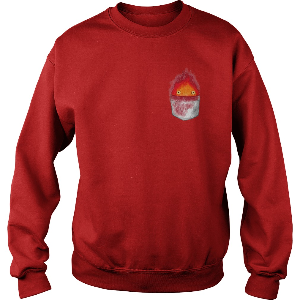 Spirit World Ghibli Pocket Fire Sweater - Spirit World Ghibli Pocket Fire Shirt