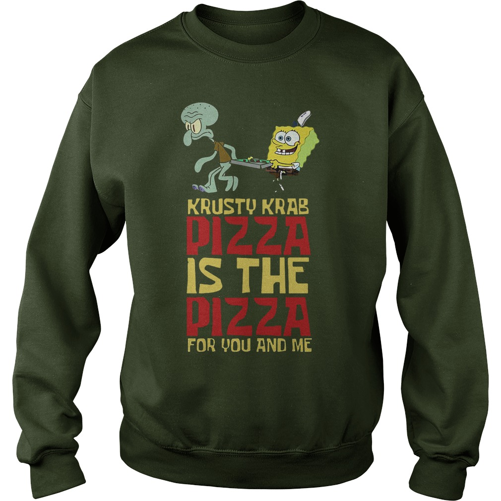 Spongebob Squarepant Krusty Krab Pizza Sweater - Spongebob Squarepant Krusty Krab Pizza Shirt