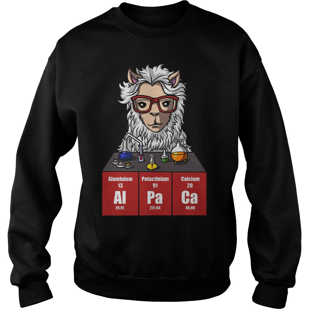 Chemistry Alpaca Cute Llama Science Teacher Sweater - Chemistry Alpaca Cute Llama Science Teacher Shirt
