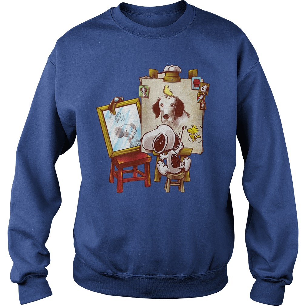 Look At Snoopy In The Mirror Sweater - Look At Snoopy In The Mirror Shirt