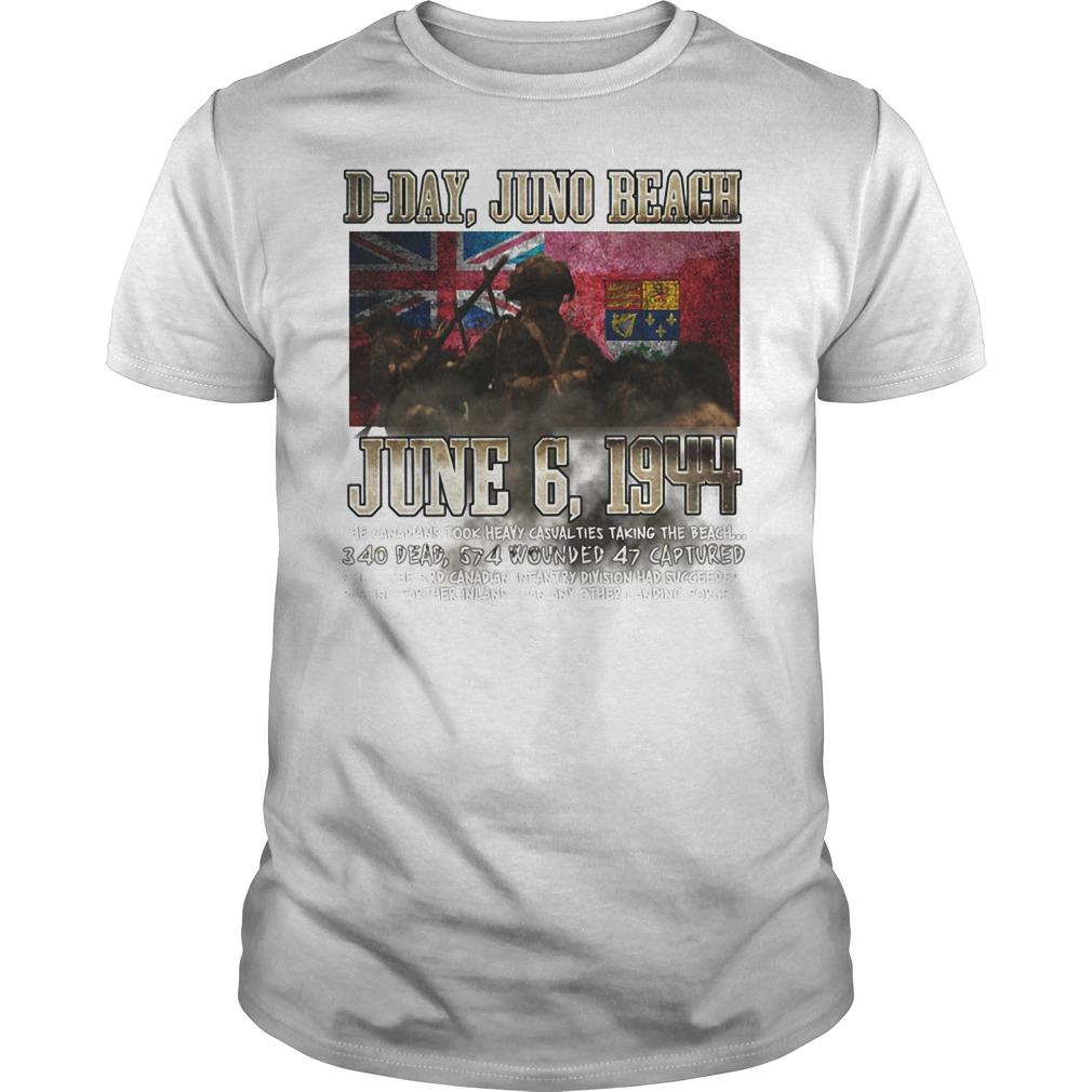 D Day Juno Beach June 6, 1944 T Shirt