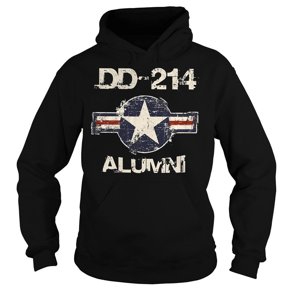 DD 214 Alumni Hoodie - DD-214 Alumni T-Shirt
