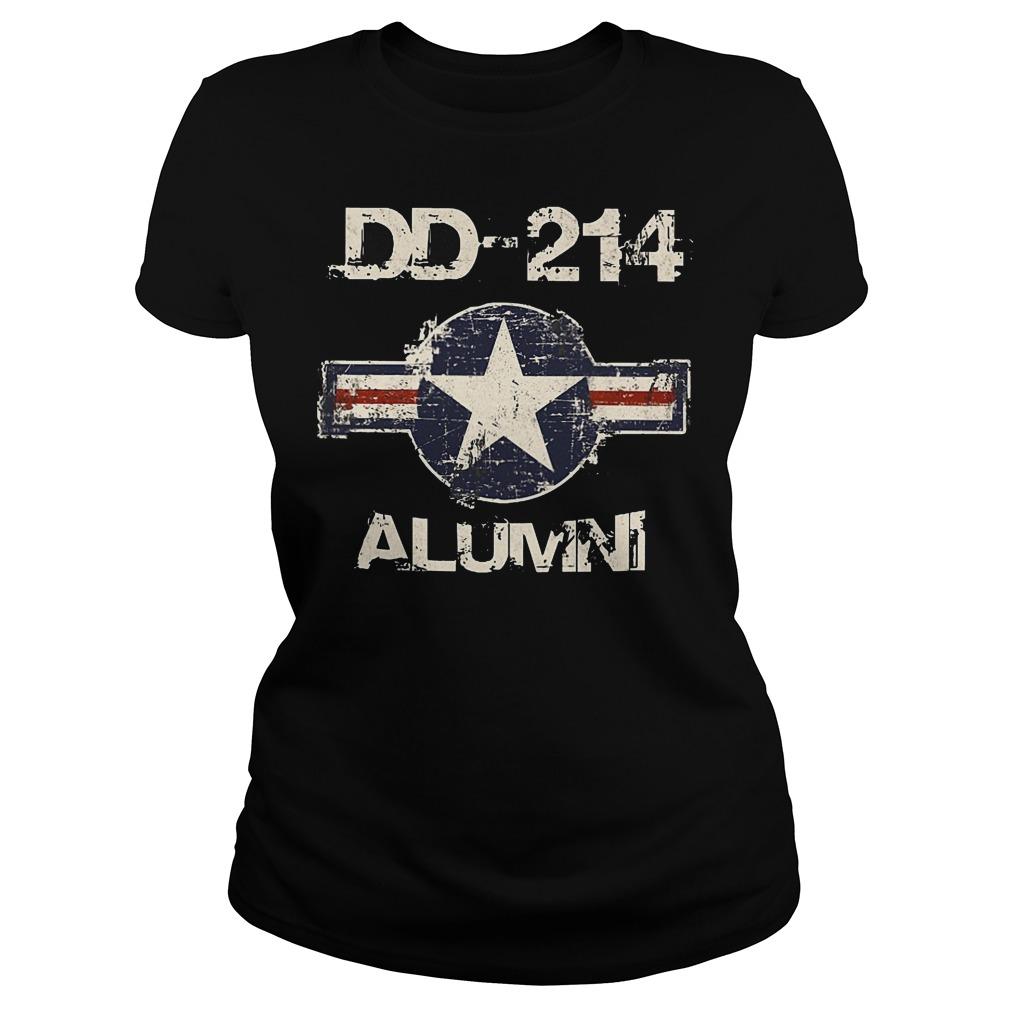 DD 214 Alumni Ladies - DD-214 Alumni T-Shirt