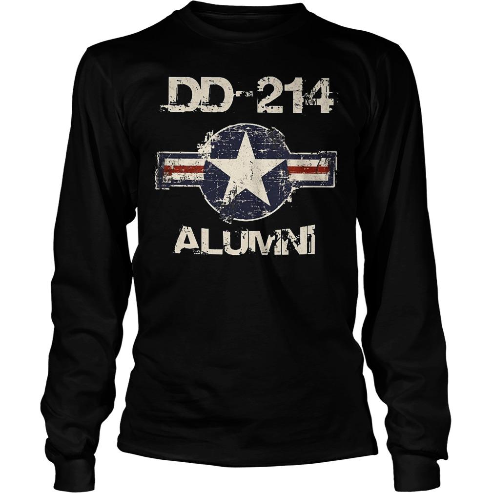 DD 214 Alumni Longsleeve - DD-214 Alumni T-Shirt