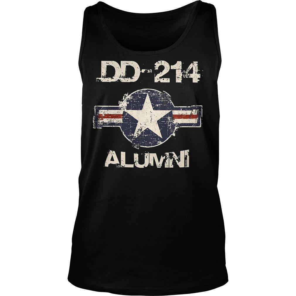 DD 214 Alumni Tanktop - DD-214 Alumni T-Shirt