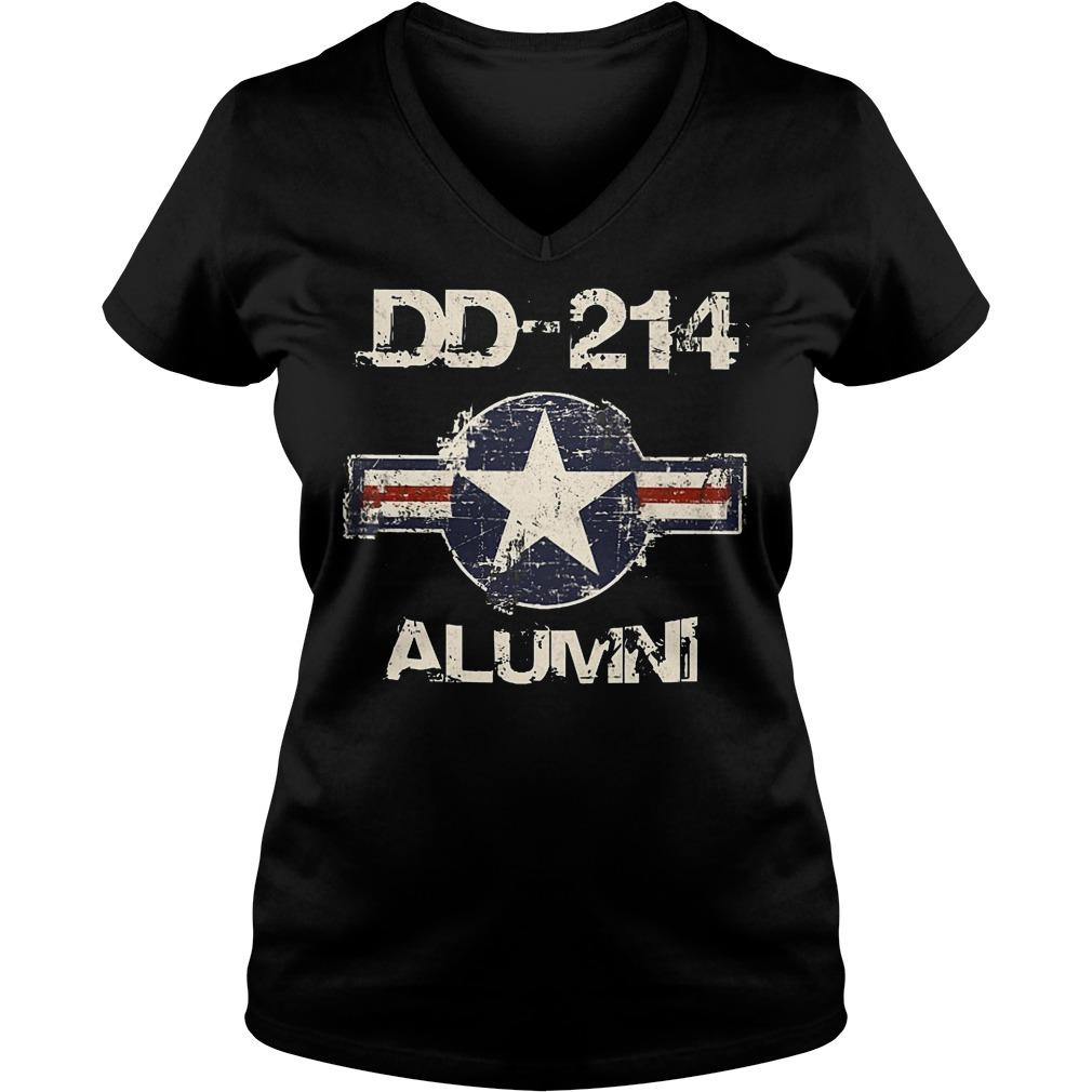 DD 214 Alumni V neck - DD-214 Alumni T-Shirt