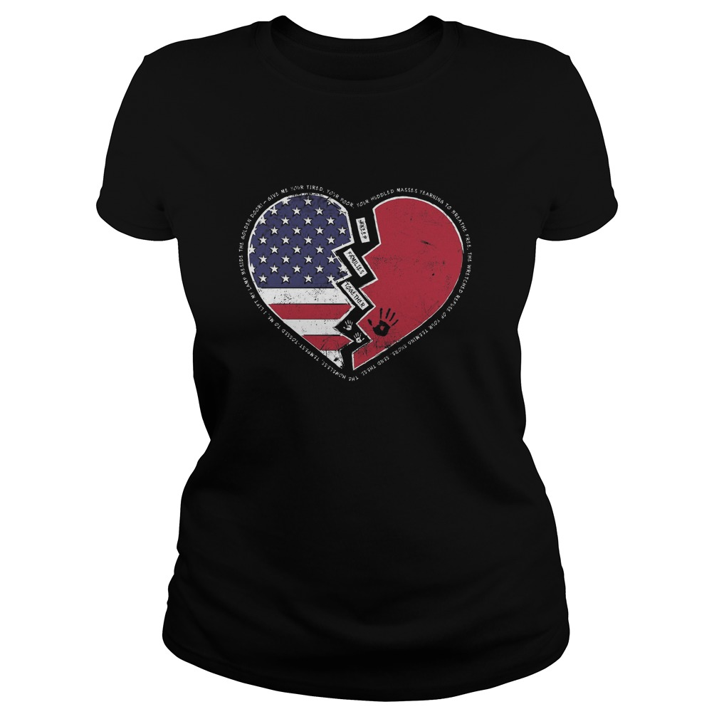 Ladies Tee - Keep Families Together-Shirt