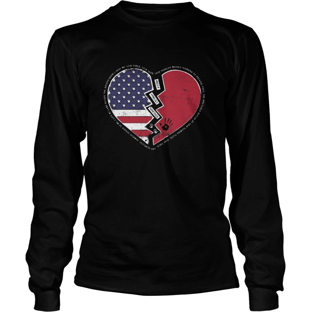 Longsleeve 1 - Keep Families Together-Shirt