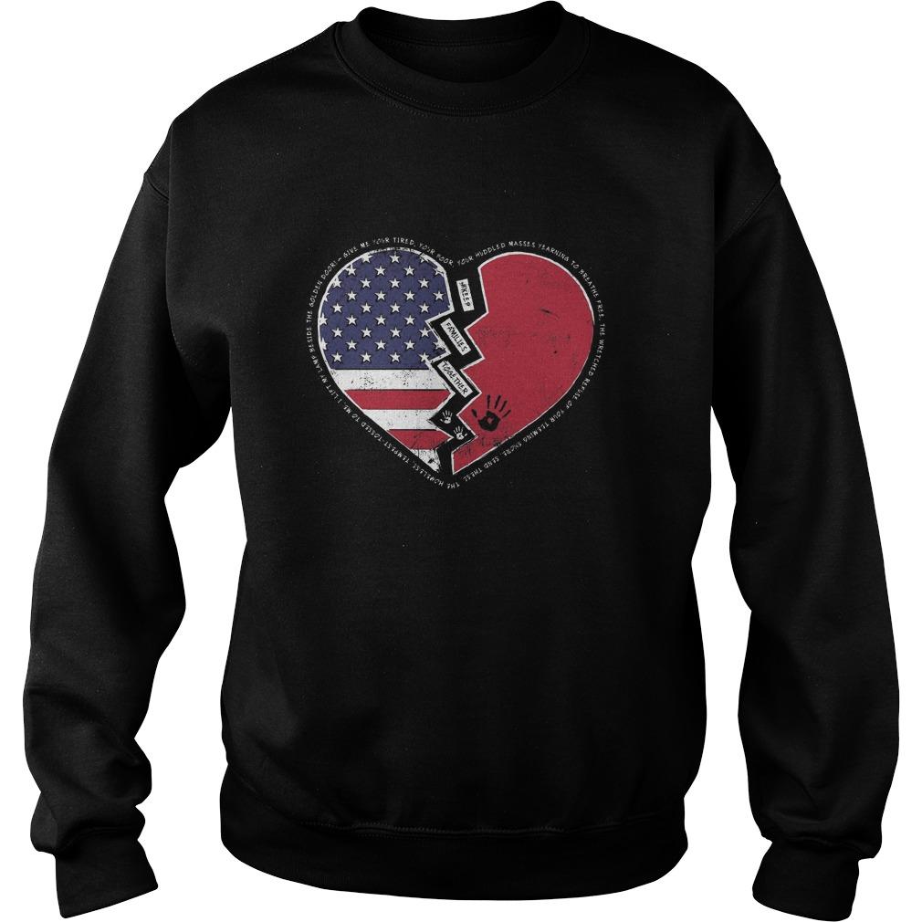 Sweat Shirt 1 - Keep Families Together-Shirt