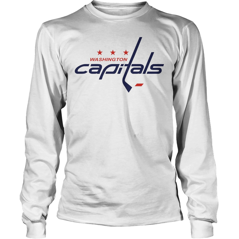 Washington Capitals Stanley Cup Champions 2018 Longsleeve