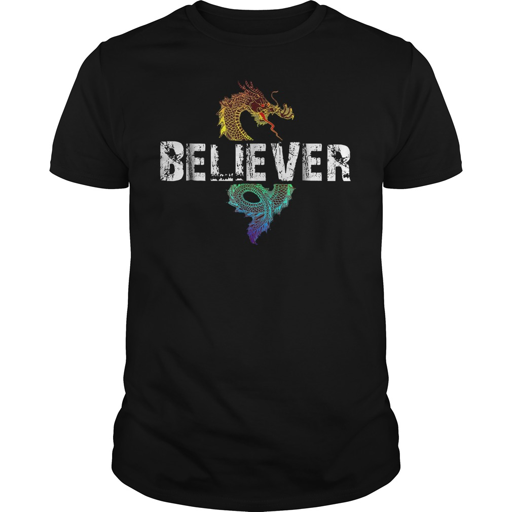 Best Price Dragon Believer T Shirt Classic Guys Unisex Tee - Best Price Dragon Believer T-Shirt