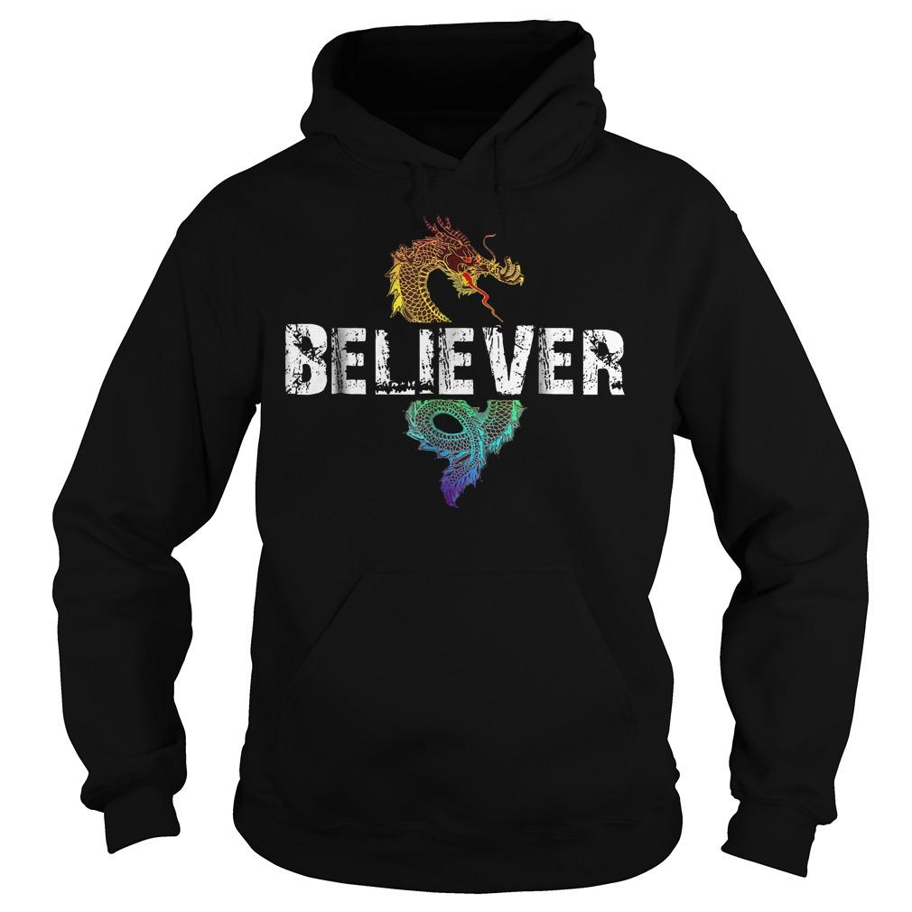 Best Price Dragon Believer T Shirt Hoodie - Best Price Dragon Believer T-Shirt