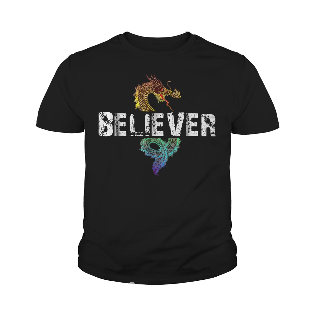 Best Price Dragon Believer T Shirt Youth Tee - Best Price Dragon Believer T-Shirt