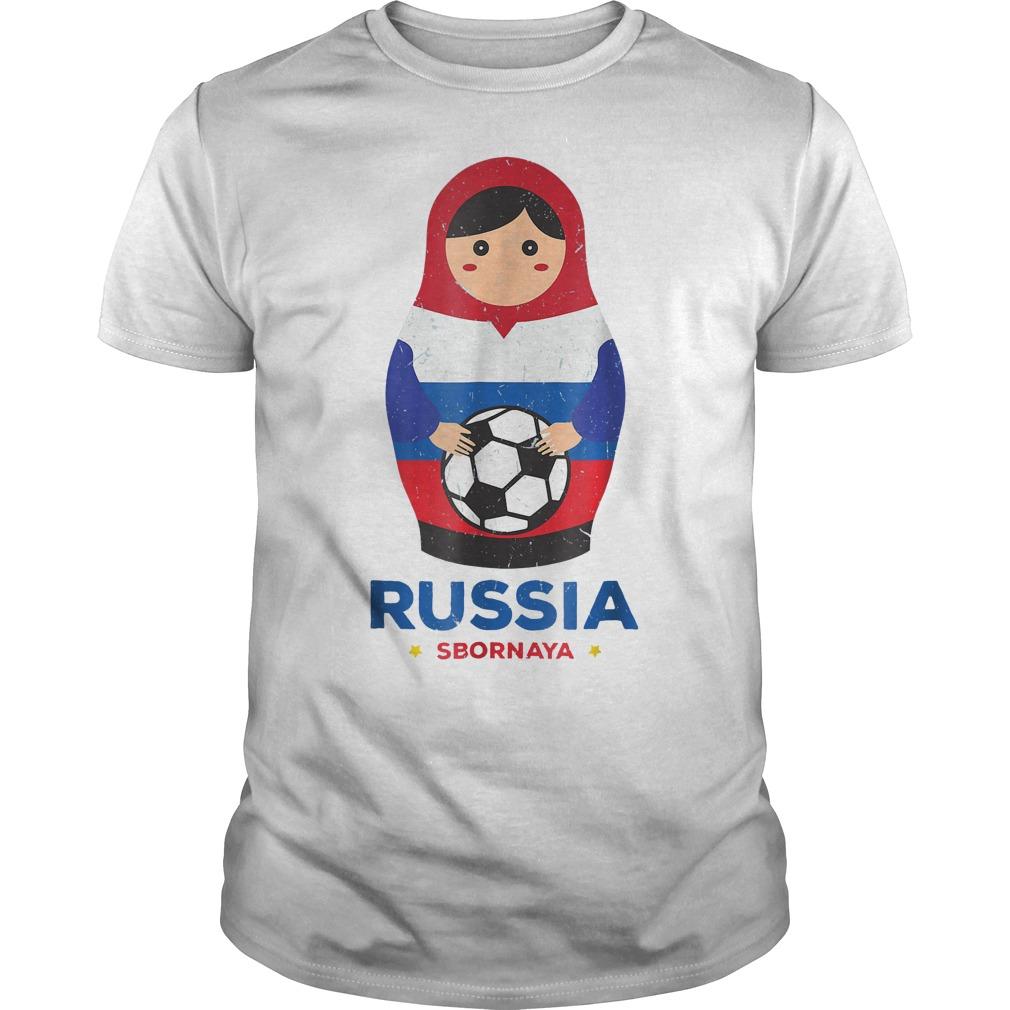 Matryoshka Russia Russian World Cup 2018 T Shirt Guys Tee - Matryoshka Russia Russian World Cup 2018 T-Shirt