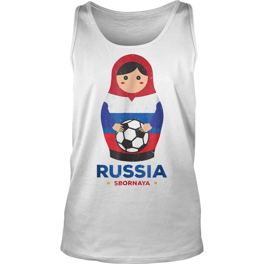 Matryoshka Russia Russian World Cup 2018 T Shirt Unisex Tank Top - Matryoshka Russia Russian World Cup 2018 T-Shirt
