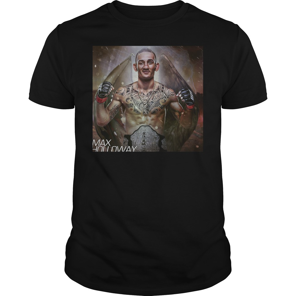 Max Holloway Ufc Fighter The Best Is Blessed T Shirt Guys Tee.jpg