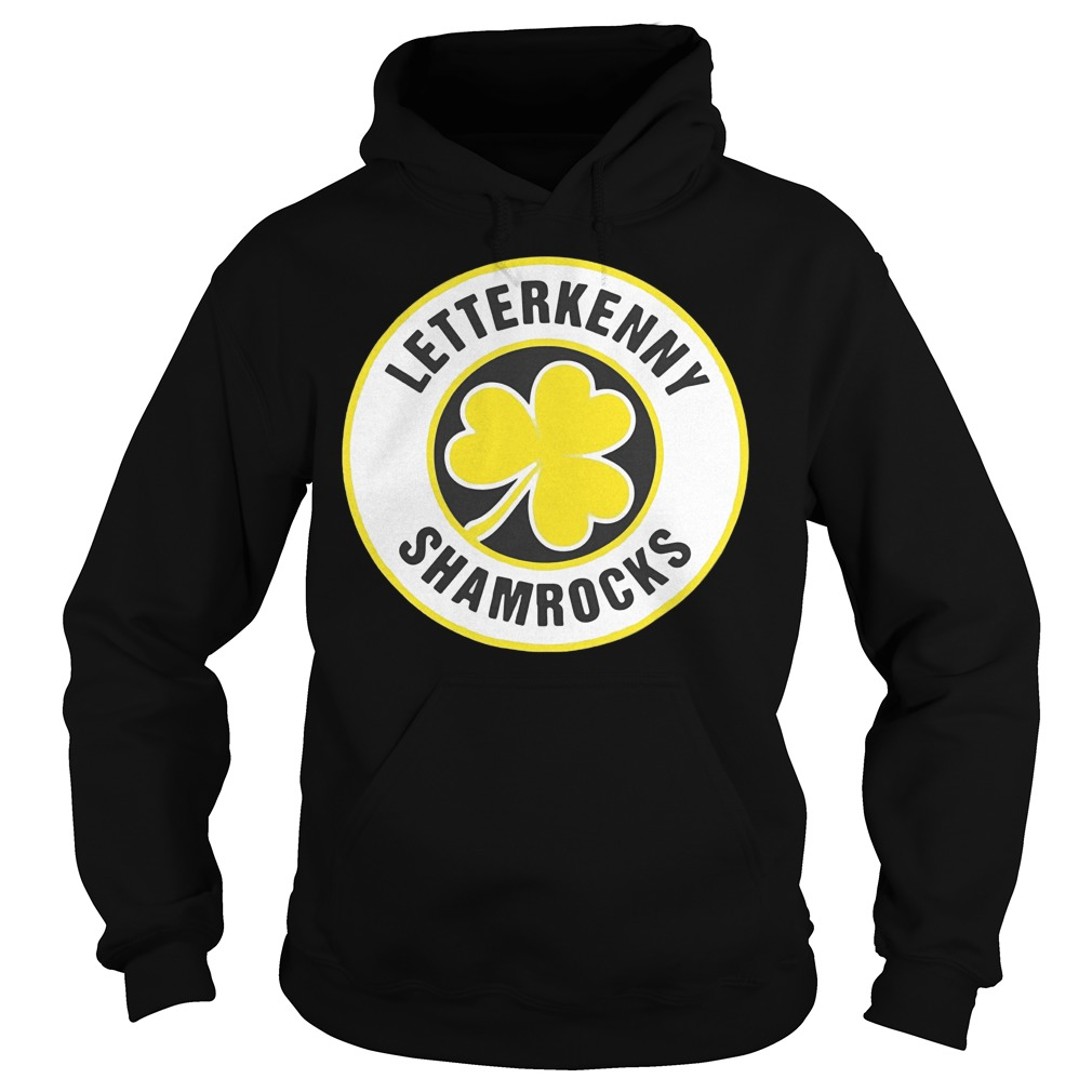 Official Letterkenny Shamrocks Retro St Patricks shirt Hoodie 2 - Official Letterkenny Shamrocks Retro St Patricks shirt