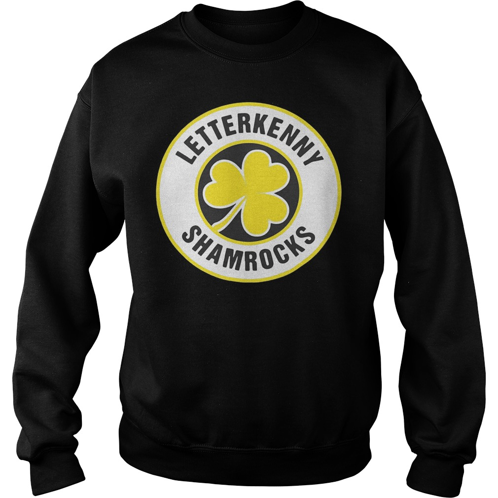 Official Letterkenny Shamrocks Retro St Patricks shirt Sweatshirt Unisex 1 - Official Letterkenny Shamrocks Retro St Patricks shirt
