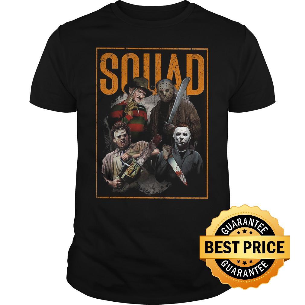 Official massacre machine horror squad shirt, hoodie