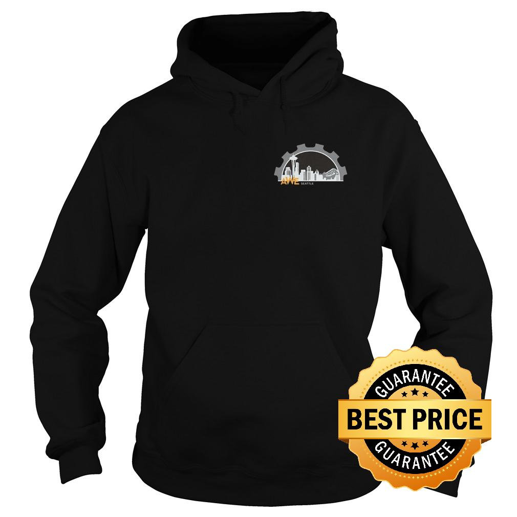 Official Women In Engineering Seattle Shirt Hoodie - Official Women In Engineering Seattle Shirt