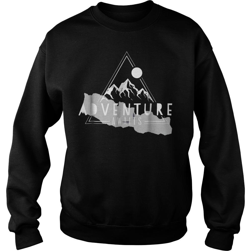 Original Adventure Awaits Nepalese Kathmandu climbing Everest Shirt Sweatshirt Unisex - Original Adventure Awaits Nepalese Kathmandu climbing Everest Shirt