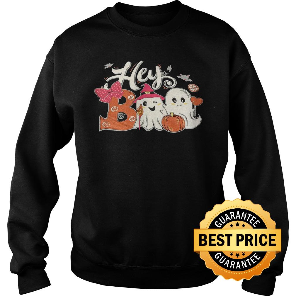 Original Hey Boo Girl shirt Sweatshirt Unisex - Sizing Chart