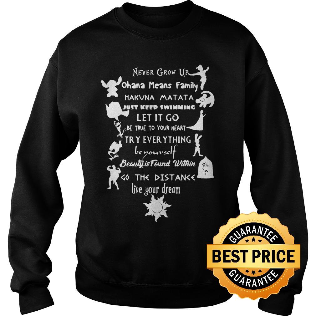 Premium 11 lessons Disney shirt Sweatshirt Unisex - Premium 11 lessons Disney shirt