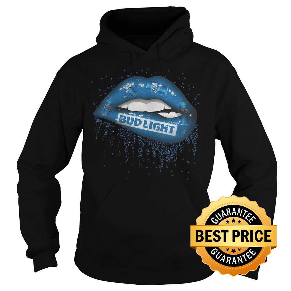 Premium Bud Light Lips shirt Hoodie - Premium Bud Light Lips shirt