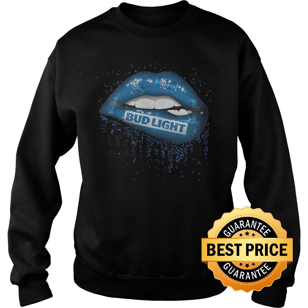 Premium Bud Light Lips shirt Sweatshirt Unisex - Premium Bud Light Lips shirt