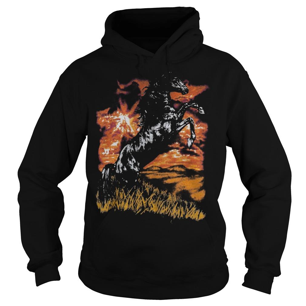 Premium Charlie Horse T Shirt Hoodie - Premium Charlie Horse T-Shirt