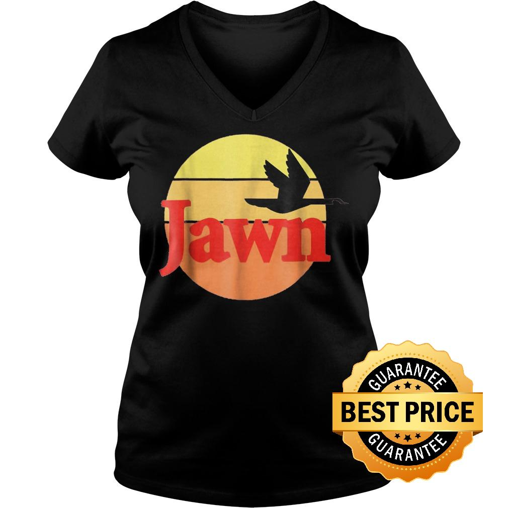 Premium Jawn wawa Shirt Ladies V Neck - Premium Jawn wawa Shirt