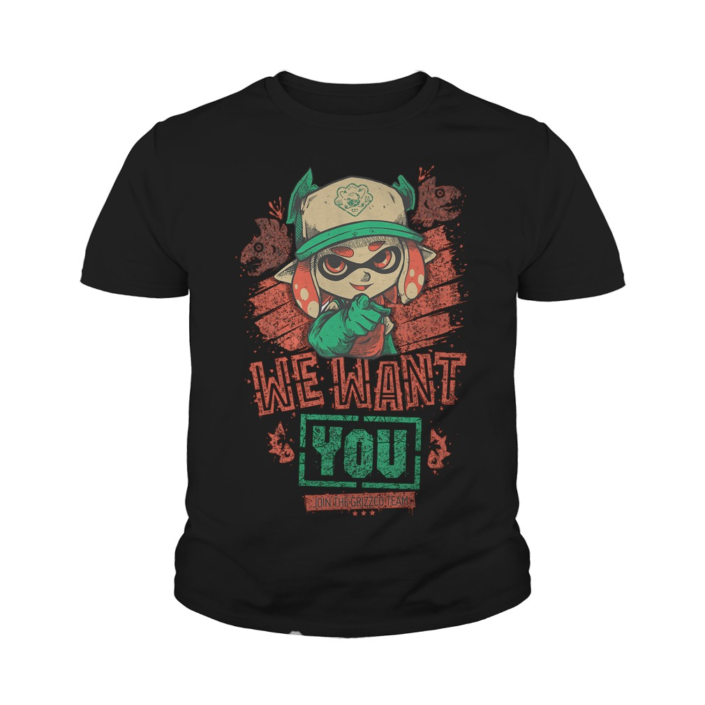 Premium We Want You T Shirt Youth Tee - Premium We Want You T-Shirt