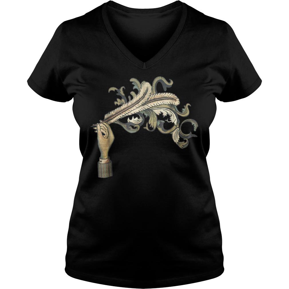 Arcade Fire Funeral shirt Ladies V Neck - Arcade Fire Funeral shirt