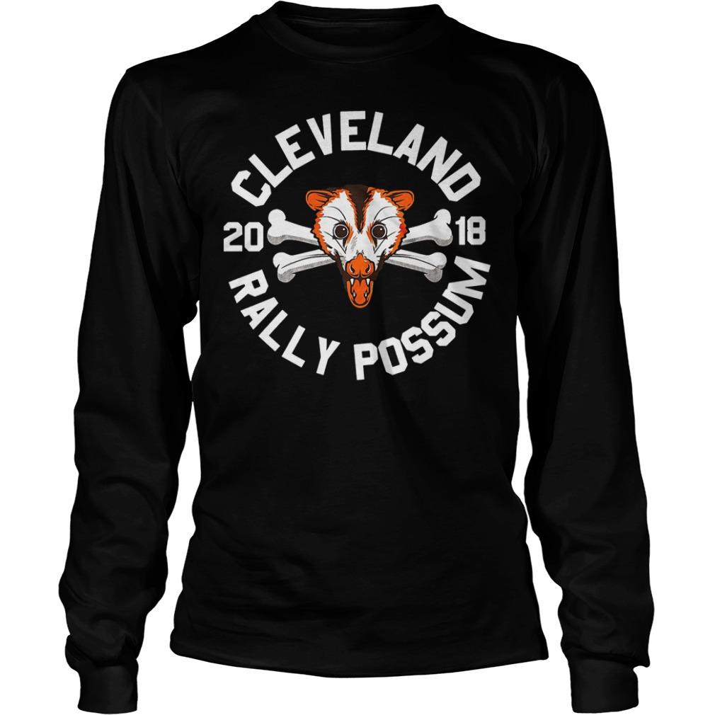 Cleveland Rally Possum shirt Longsleeve Tee Unisex - Cleveland Rally Possum shirt