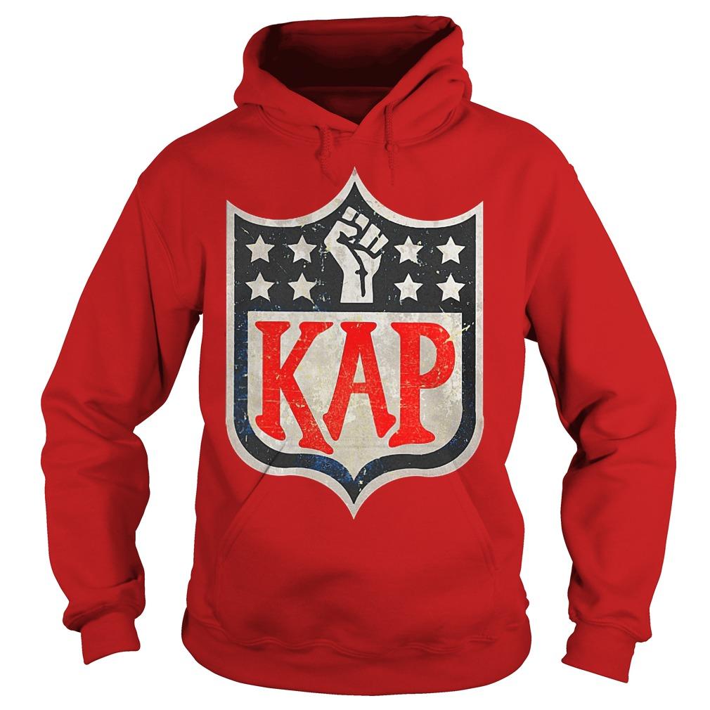 Colin Kaepernick in NFL logo shirt Hoodie - Colin Kaepernick in NFL logo shirt